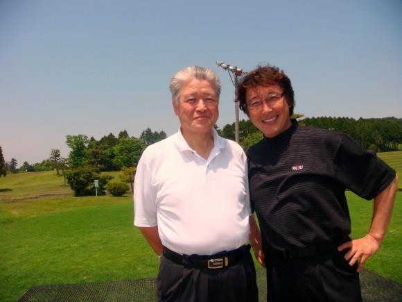 高橋弘会長はゴルフの師匠