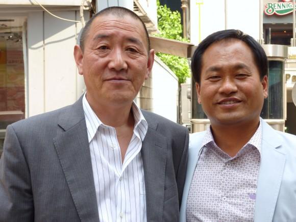佐口氏とヤンさん
