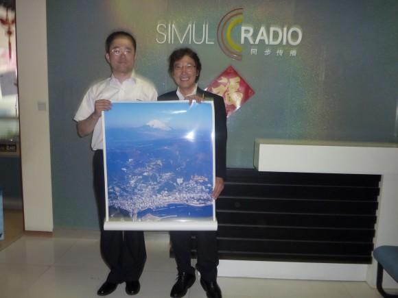 SIMUK RADIO 本社にて