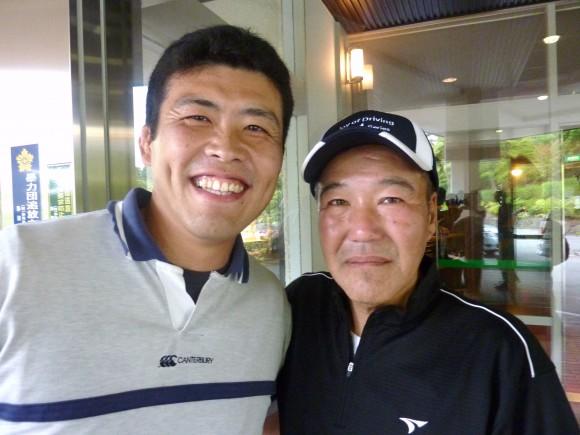 函南ゴルフクラブでバッタリ