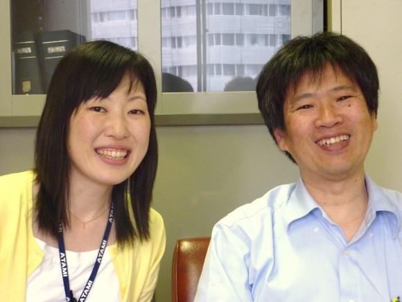 平井さんと上西課長