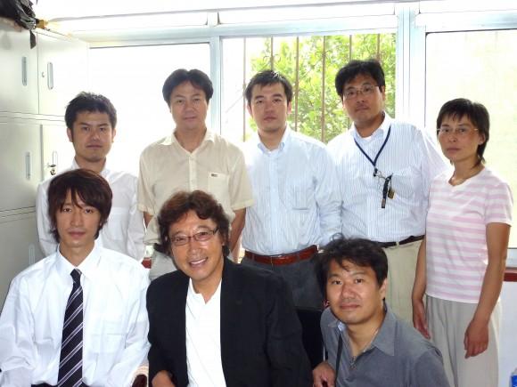 有声日本語学校スタッフと