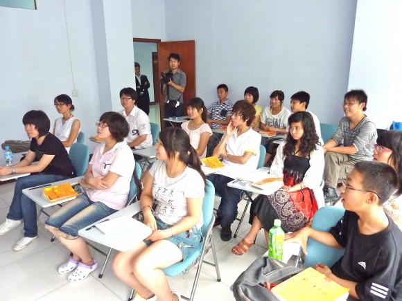 有声日本語学校の生徒さん