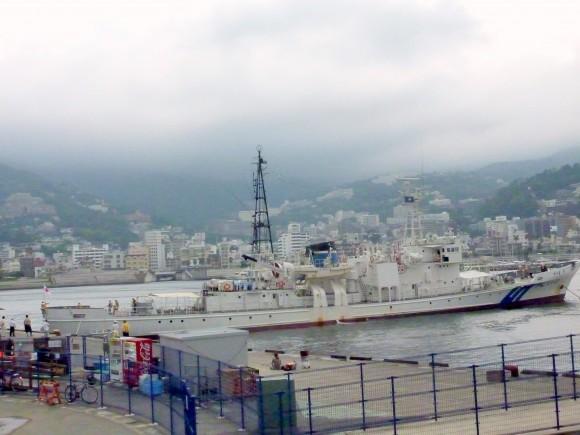巡視船「するが」熱海港に停泊