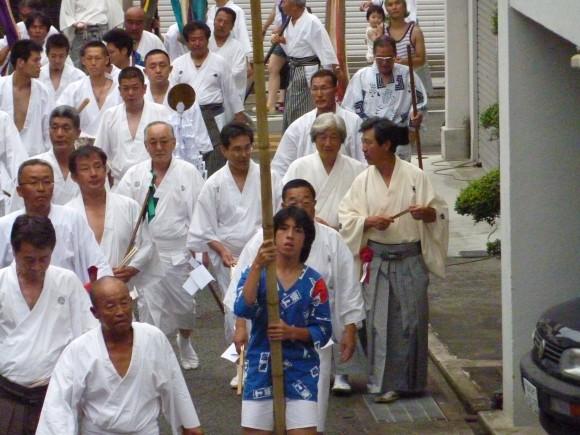 阿治古神社例大祭本祭り