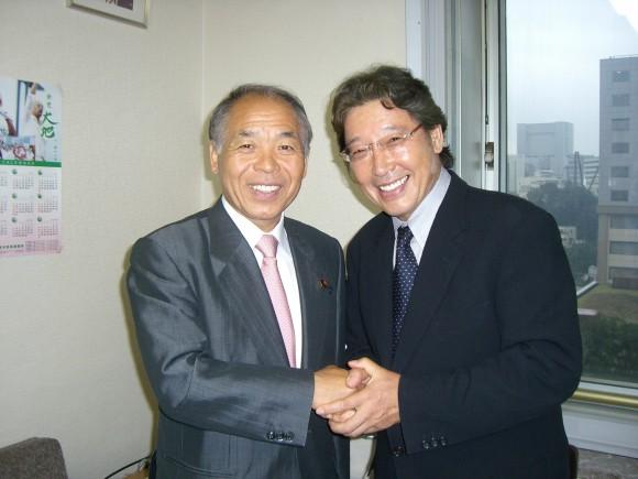 静岡知事選でも協力要請あり