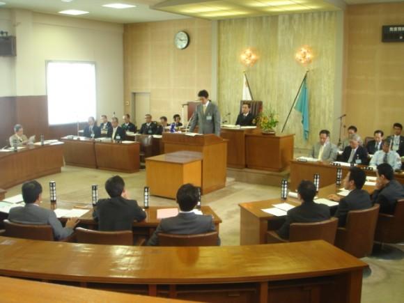 熱海9月議会、市長の上程議案説明