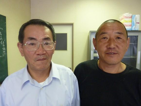 村田課長と佐口氏