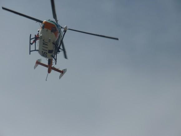静岡県消防防災航空隊ヘリ
