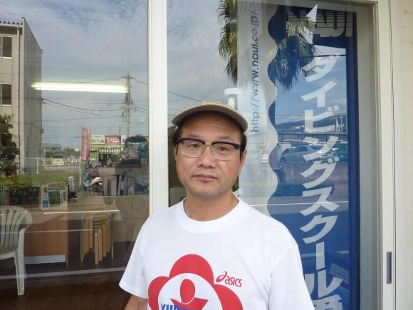 木下恵司氏(海山代表)