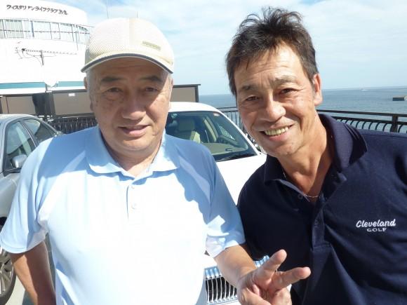 目黒社長と清水アキラさん