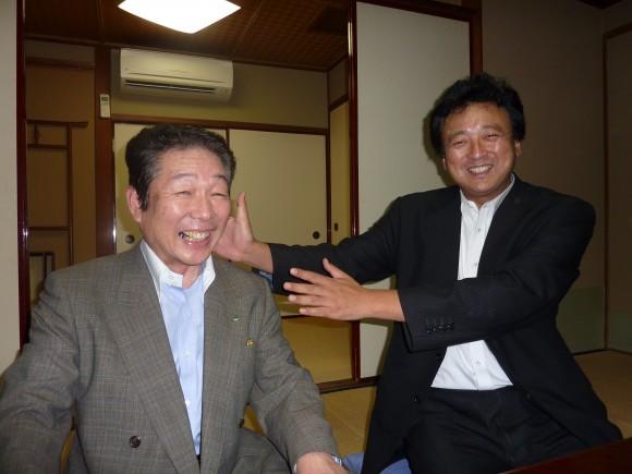 渡辺周民主党衆議院議員と平石氏