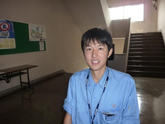 飯塚建設課職員