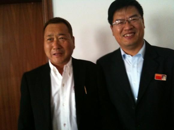 小林氏と王副院長
