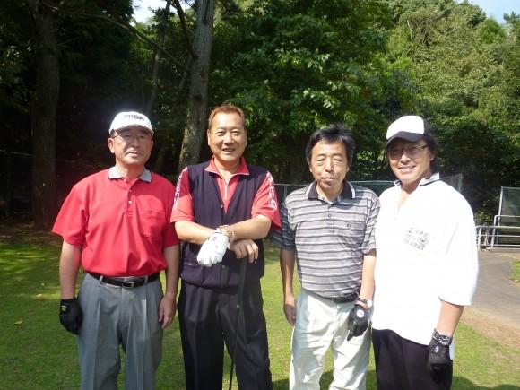 西熱海ゴルフ場にて