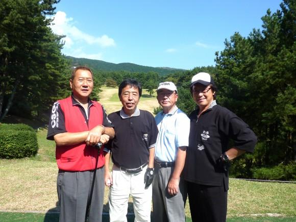 伊木茂樹歓迎ゴルフ新メンバー