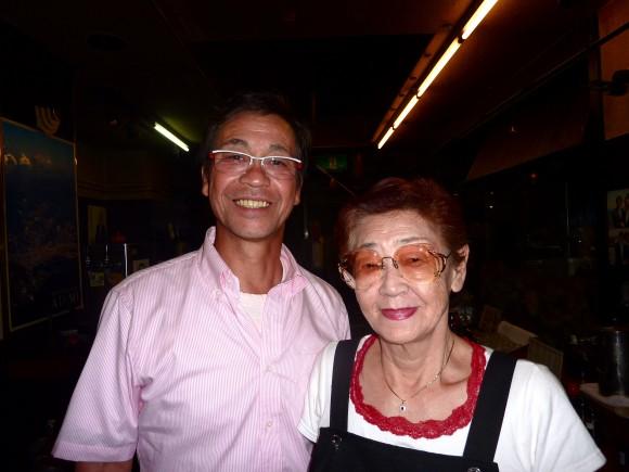 アキラさんと西村さん