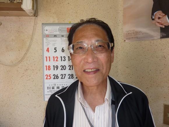 三枝武司和田山町内会長