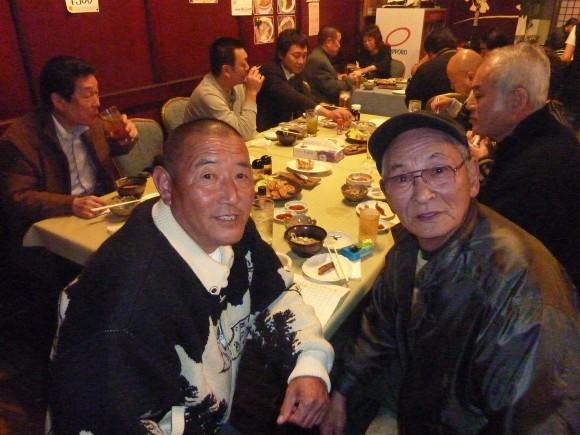 佐口会長と望月氏
