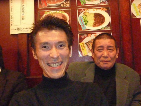 斉藤支配人と太田氏