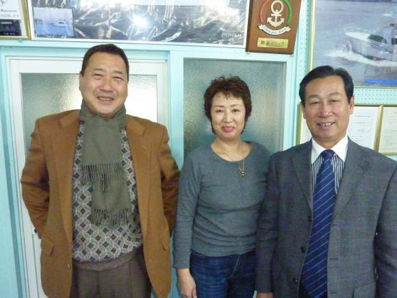 孫会長と小林ご夫妻