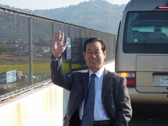 小田厚道路から富士を観る、孫会長