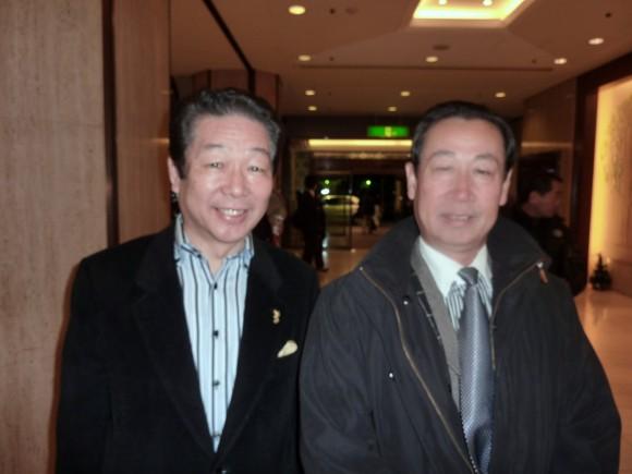平石氏と孫会長