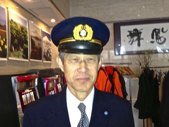 中島消防長