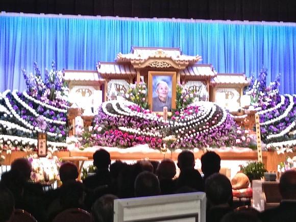 故吉田たみ子さん葬儀