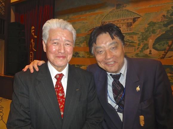 会長と河村氏