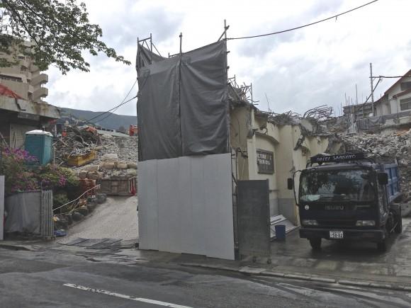 旧岡本ホテル解体