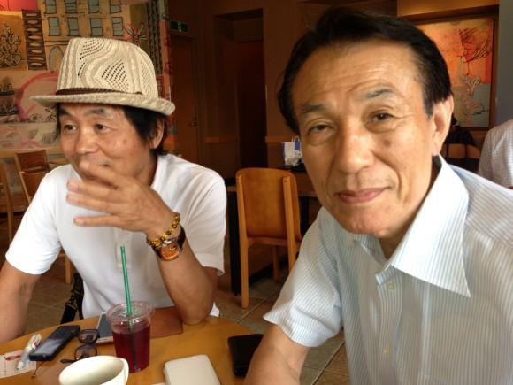 金太郎さんに石関社長