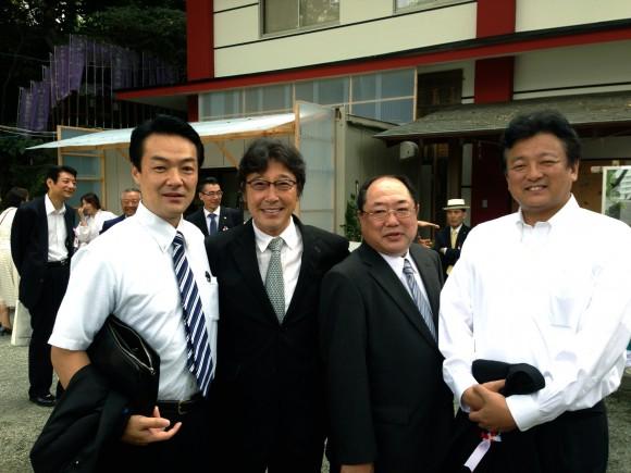 橋本、Dr渡辺、渡辺氏と