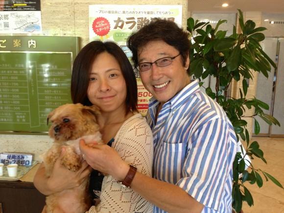 椿さんと愛犬②