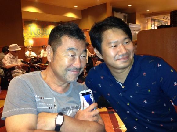 山岸氏と三浦氏