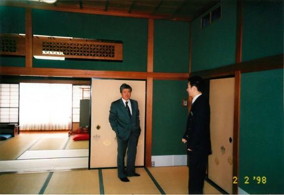 高橋会長 日本閣にて