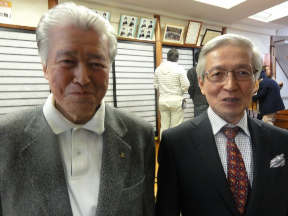 会長と遠藤氏
