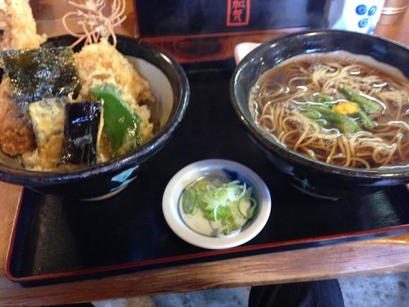 ソバ定食スペシャル