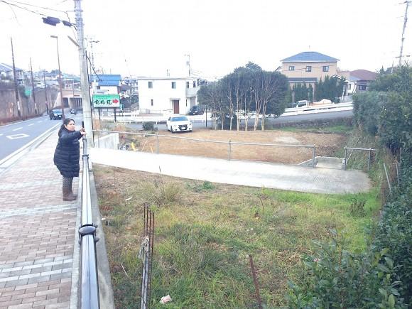 京三の土地