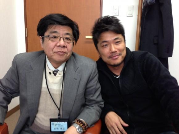 川口社長と山田課長