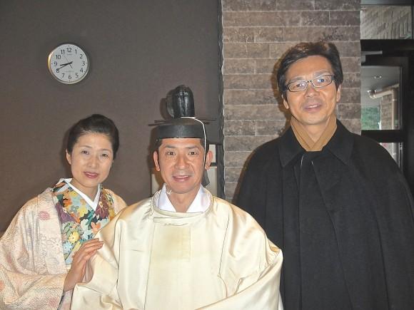 宮司と市長ご夫妻