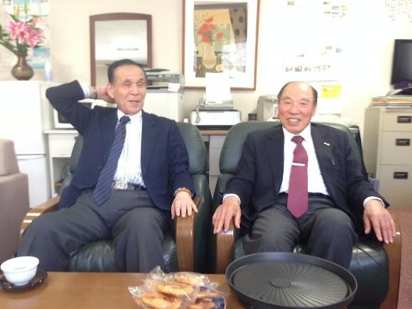 渡辺氏と佐藤会長