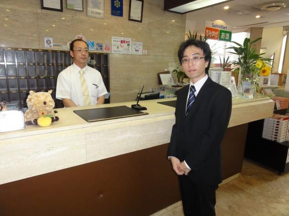 澤田法光氏さんホテルサンミフロントにて