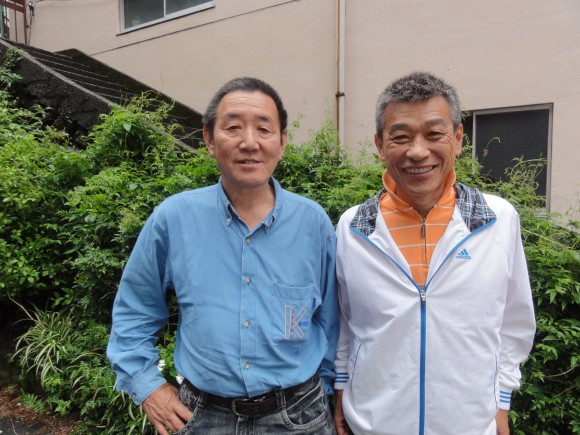佐口氏と佐藤氏