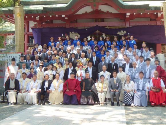 来宮神社例大祭記念写真