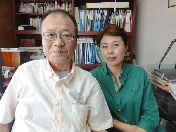 塩野氏と劉さん
