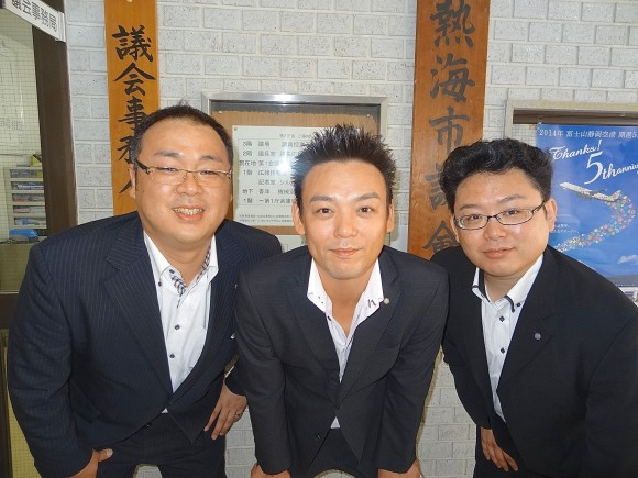 仲林氏&スタッフ