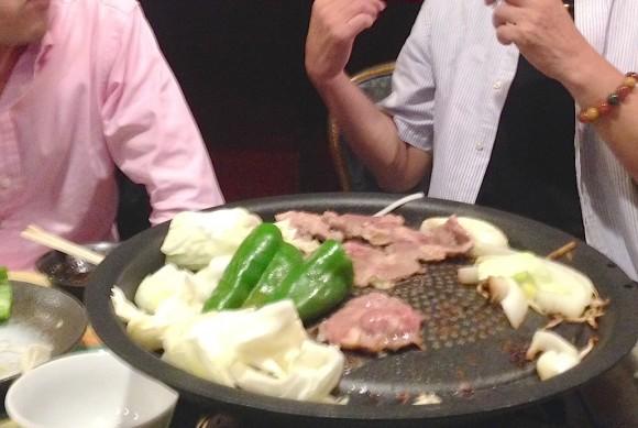 ラム肉BBQ