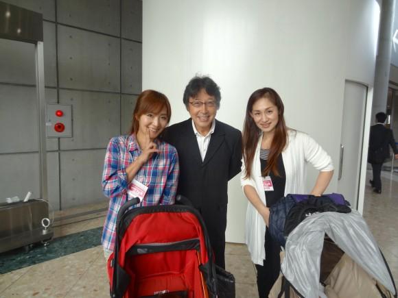 呉川さんと3人