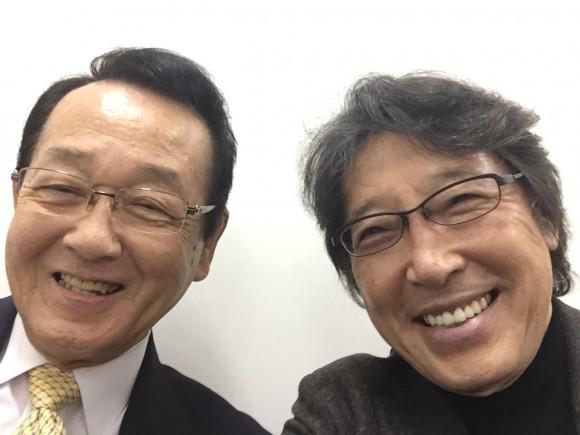 細川名誉教授と